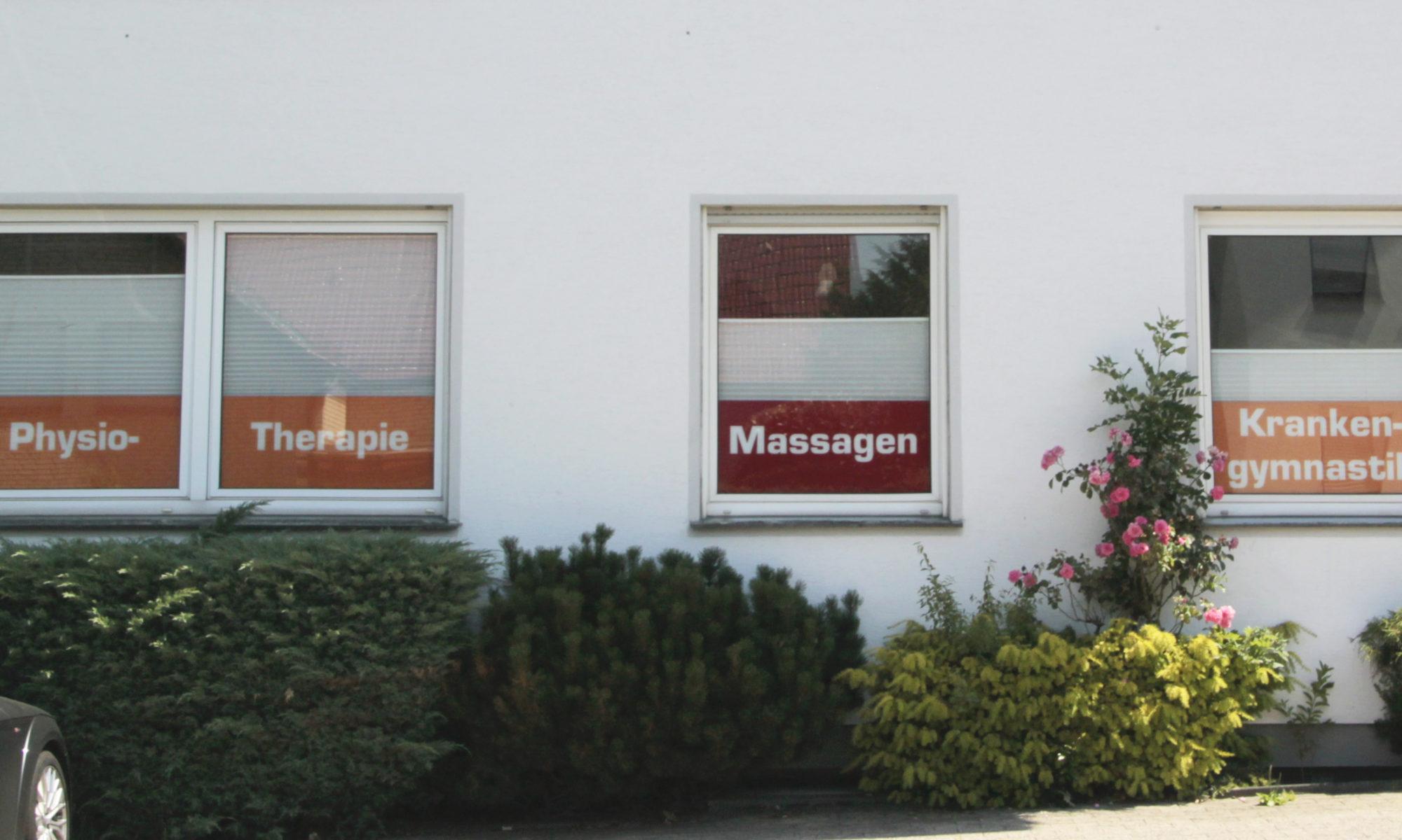 Außenansicht unserer Praxis für Physiotherapie und Massage